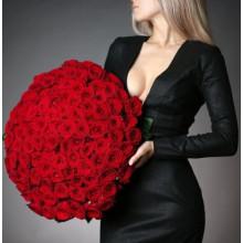 125 красных роз
