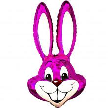 Фольгированная фигура ''Кролик розовый''