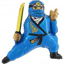 Фольгированная фигура ''Ниндзя синий'