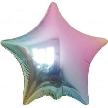 Звезда Омбре металлик жемчуг