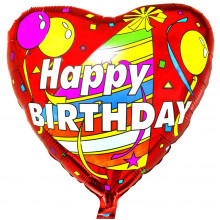 Сердце ''Happy Birthday''