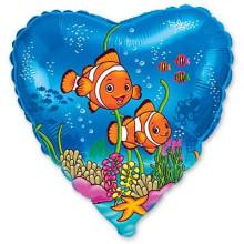 Сердце ''Рыбки немо''