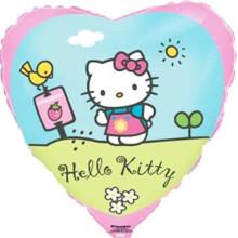 Сердце ''Hello Kitty сад''