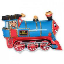 """Фольгированная фигура """" Поезд"""""""