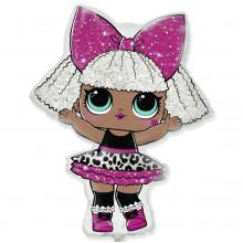 Фольгированная фигура кукла LOL DIVA