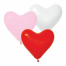 Ø 25 см шар в форме сердца