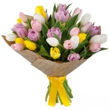 35 тюльпанов ассорти