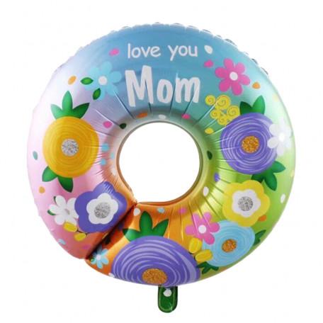 """Фольгированная фигура """"Love you Mom"""""""